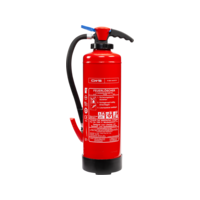 Fire extinguisher for burning fat