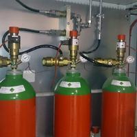 Inertgas-Löschanlage